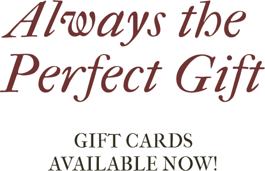 Gift Card Header Text